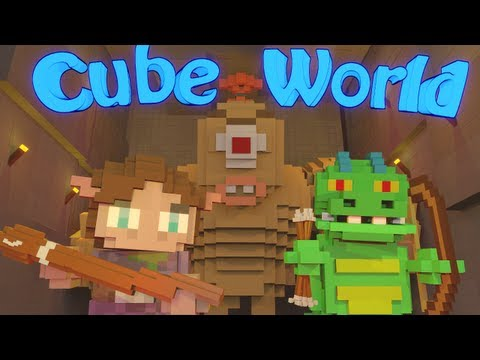 Cube World Let's Play - Day 1!