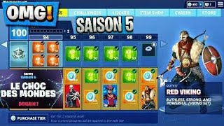 FORTNITE ONT RÉVÉLÉ LE *THÈME DE LA SAISON 5* sur Fortnite Battle Royale