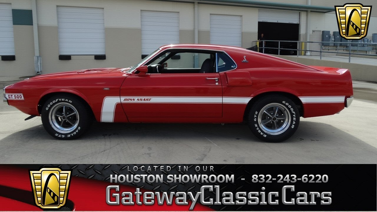 1970 ford mustang gt500 tribute stock 464 gateway classic cars of houston youtube. Black Bedroom Furniture Sets. Home Design Ideas
