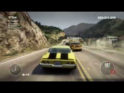 GRID 2 PC Multiplayer Race Gameplay: Tier 1 Upgraded Chevrolet Camaro Z28 in California, Big Sur