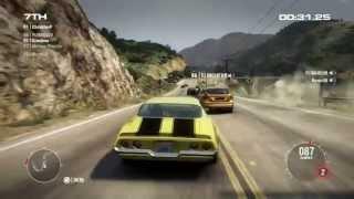 GRID 2 PC Multiplayer Race Gameplay: Tier 1 Upgraded Chevrolet Camaro Z28 in California, Big Sur