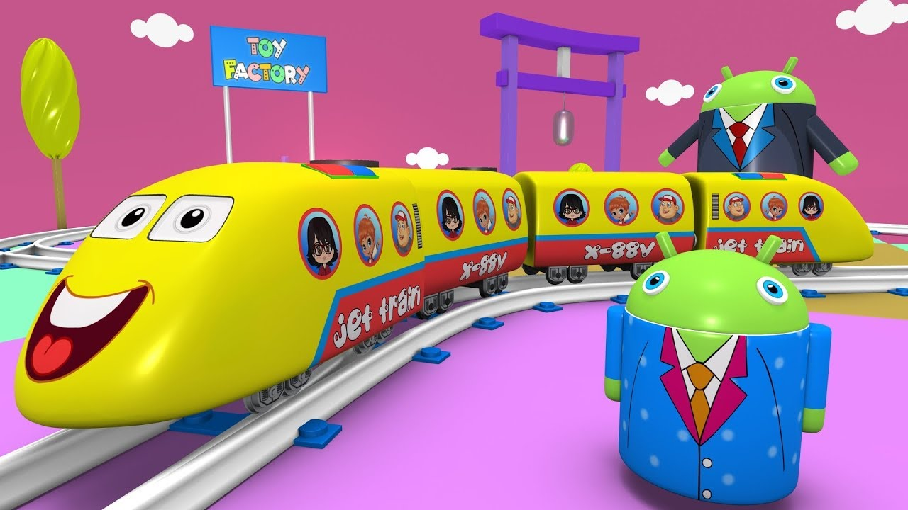 Kids Videos For Kids Trains For Kids Cartoon Cartoon Toy
