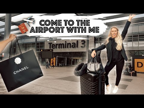 COME TO THE AIRPORT WITH ME | DUTY FREE DESIGNER SHOPPING & FLYING TO SOUTH AFRICA ON NYE