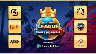 CLASH ROYALE LEAGUE FINALE MONDIALE 2019 (français)