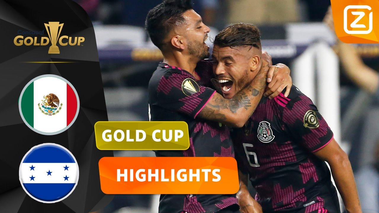 DAT IS NOG EENS EEN LEKKERE VOLLEY! 🤩 | Mexico vs Honduras | CONCACAF Gold Cup 2021 | Samenvatting