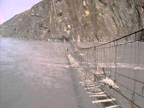how to make a suspension bridge