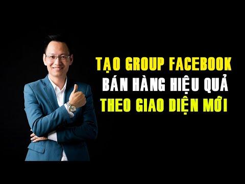 Hướng dẫn tạo Group Facebook bán hàng hiệu quả theo giao diện mới   Nguyễn Trí Long  #longcactus