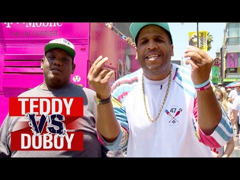 Street Performing Challenge   Teddy vs. DoBoy