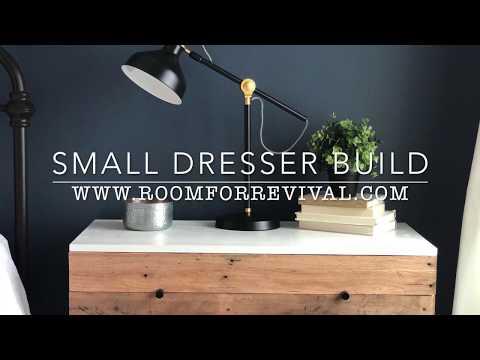 DIY Small Dresser Build