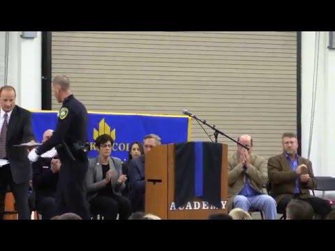 2015 Allan Hancock College Police Academy Graduation