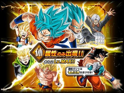 565 STONES SUMMON!! DBZ Dokkan Battle - PHY Max level (JP)