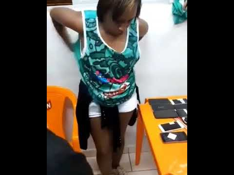 Woman caught after stealing phones