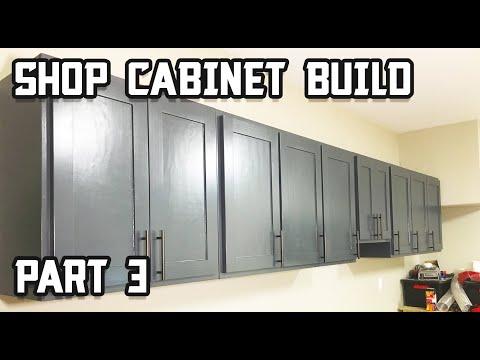 Custom Shop Cabinet Build - Part 3!