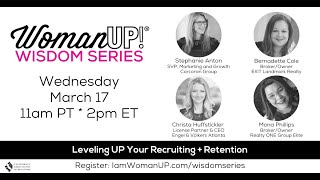 Wisdom Session * Recruiting and Retention