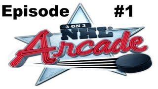 3 on 3 NHL Arcade - Episode #1: Hard is Hard!