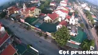 Ngã ba Chợ bộng Bảo Thành ,Yên Thành , Nghệ an ..nhìn từ Flycam
