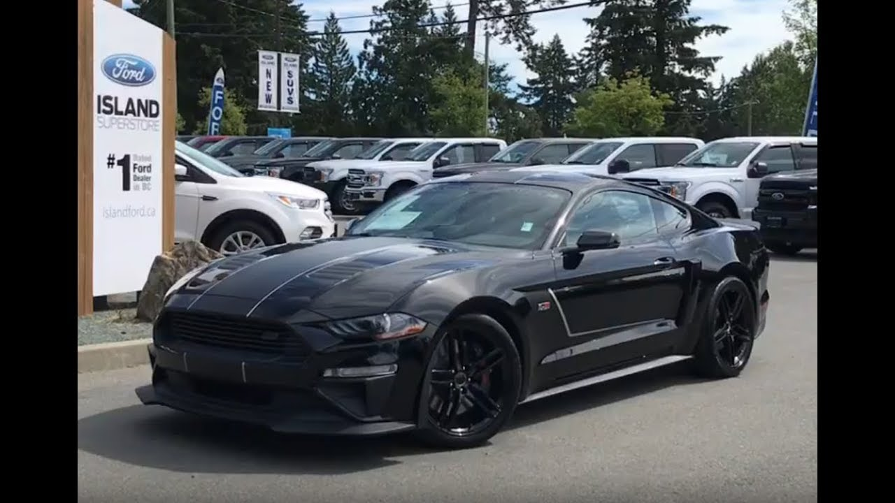 2018 roush ford mustang gt premium jackhammer 1 9 in canada review island ford