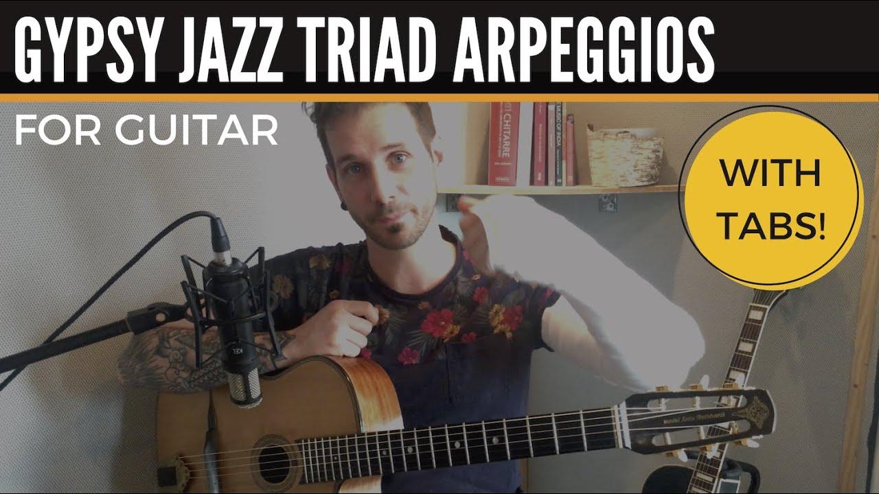 Gypsy Jazz Triad Arpeggios