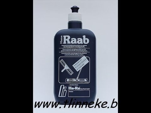 Hans raab cleaning products