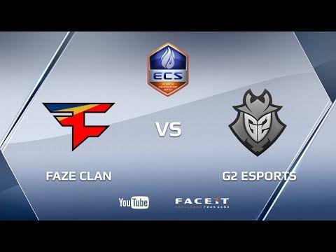 FaZe Clan vs G2 Esports, ECS S3 Finals