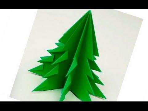 Легкие новогодние поделки из бумаги