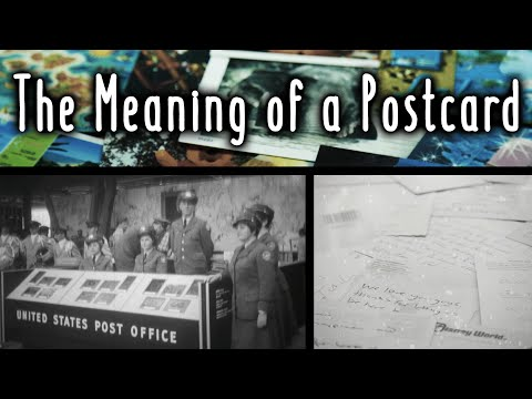 The Meaning of a Postcard
