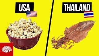 Kino-Snacks aus aller Welt