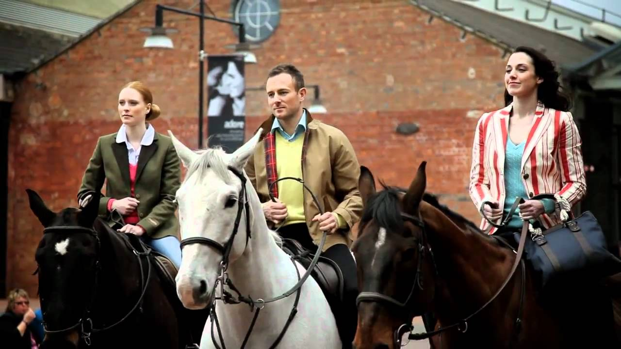 McArthurGlen's Swindon Designer Outlet Horseback Fashion Show