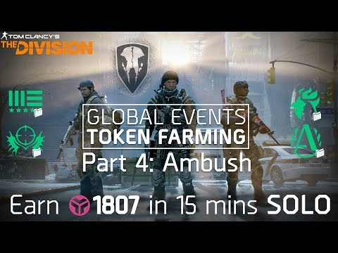 The Division 1.8 | 1800+ GE Tokens Every 15 Mins Solo | Warrengate Legendary