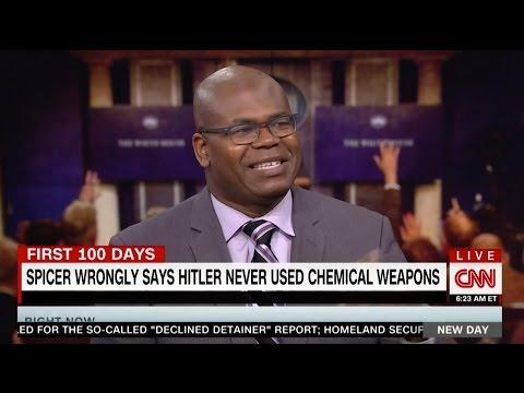 CNN: Dr Jason Johnson on Hitler, Spicer and...