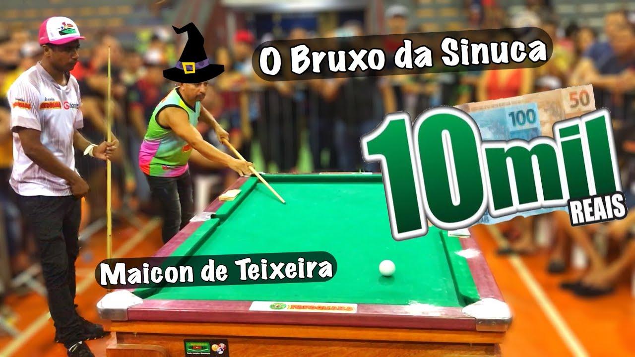 Manaus-AM parou pra assistir esse jogo Baianinho de Mauá x Maicon de Teixeira ???