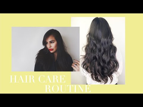 IN-DEPTH  → HAIR CARE ROUTINE