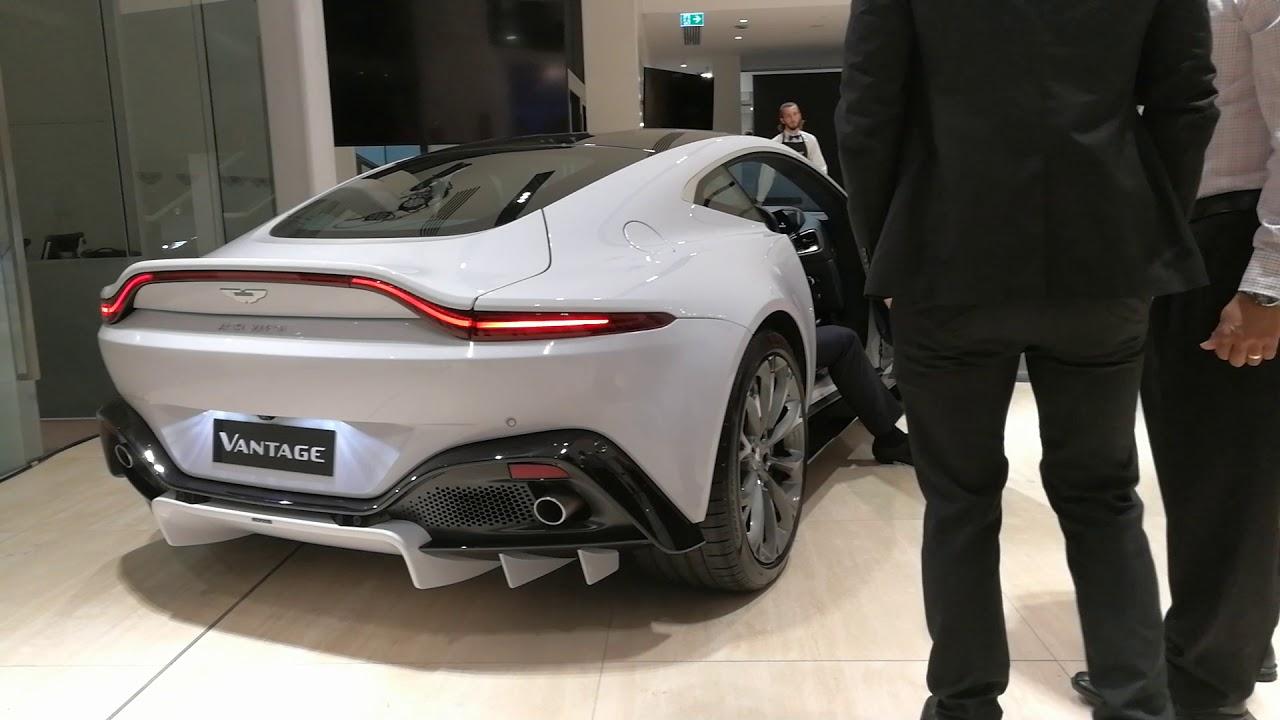 Incredible Aston Martin 2019 Vantage Start Up Exhaust Sound Youtube