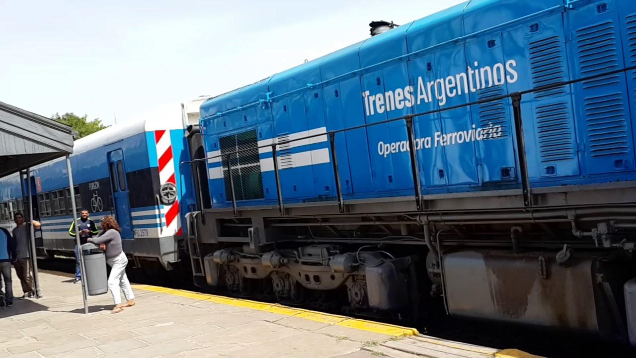 Аргентина. Пригородные поезда. Самый дешевый транспорт. Аргентинские Железные дороги.
