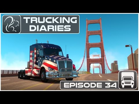 Trucking Diaries - Episode #34 (American Truck Simulator)