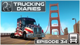 Trucking Diaries - Episode #34 (American Truck Simulator)