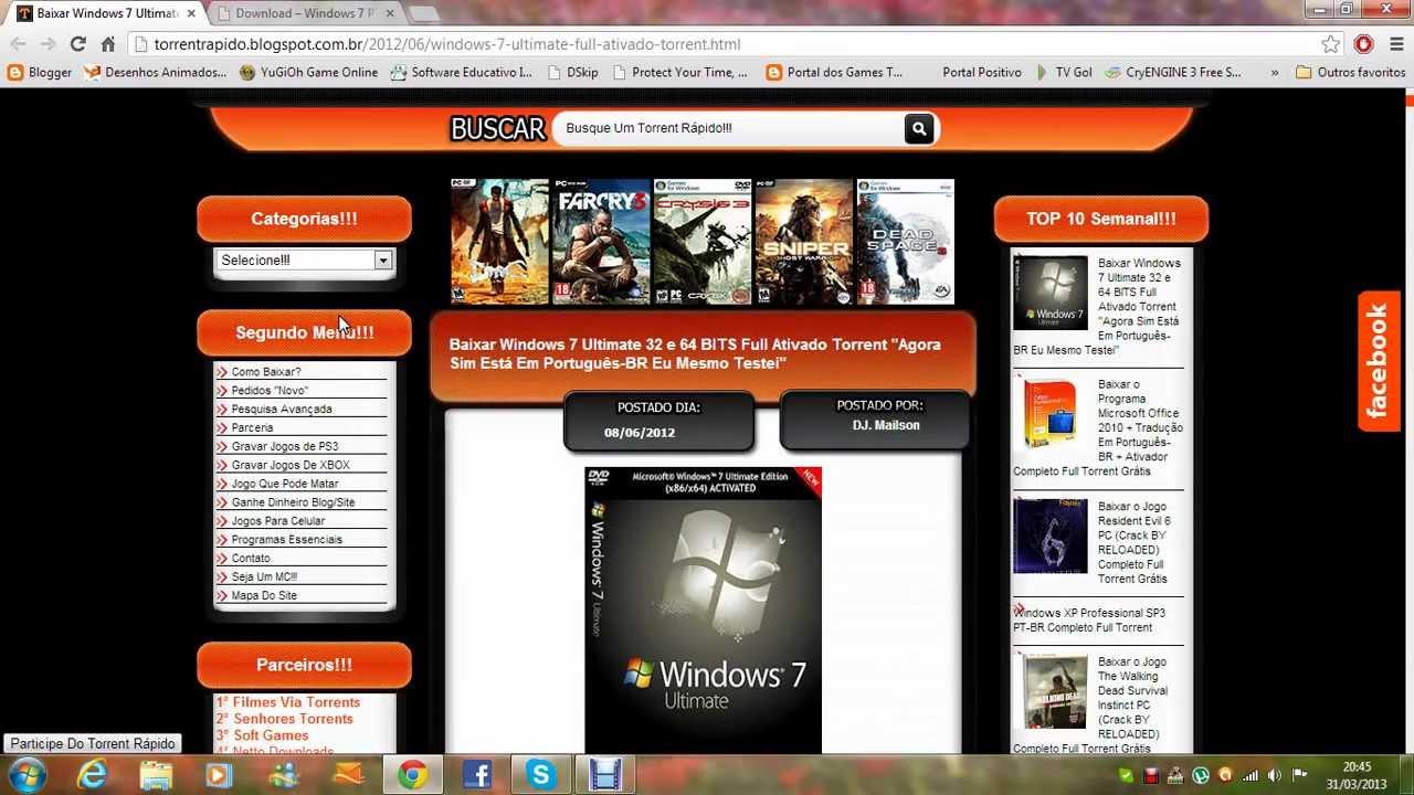 descargar windows 7 ultimate 64 bits iso utorrent