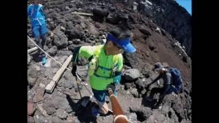 富士山 2017年7月8日 富士宮口 富士宮ルートトレイルラン Mount Fuji, J...