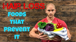 Hair Loss: Top 3 Natural Foods to Slow Balding- Thomas DeLauer