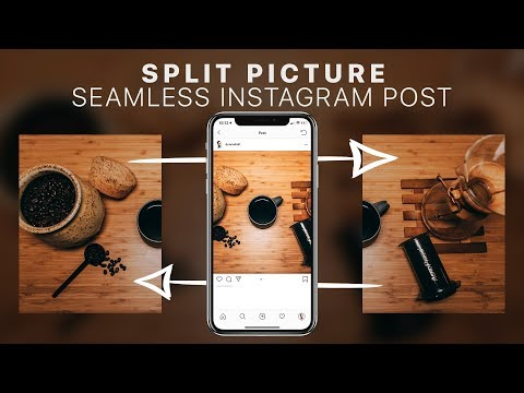 How To Split Pictures For Instagram // Seamless Multi-Post Tutorial