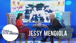 TWBA: Jessy Mendiola shares how Luis Manzano and her ate get along