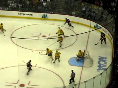 Kyle Schmidt scores in OT to give Duluth their first National Championship.
