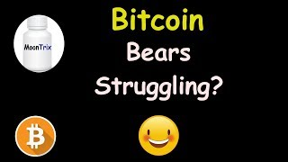 Are the BITCOIN Bears Struggling to Push Lower? 🔴 LIVE