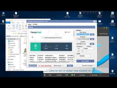 Facebook Account Creator Pro 2.01 | Facebook Bot 2017