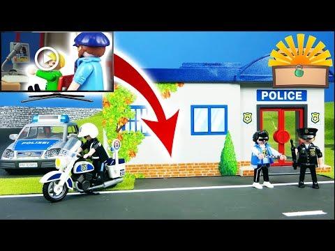 POLIZEI STATION ANGEGRIFFEN IST MARCEL SCHULD Playmobil Kinderfilm deutsch