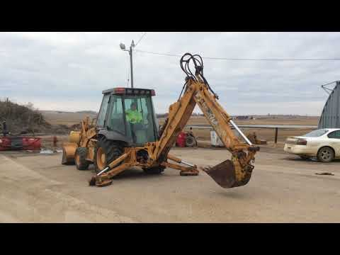 Case 580 Super L Backhoe - April 25, 2018 Big Iron Auction