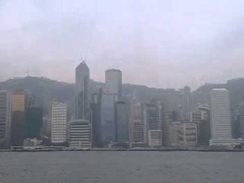 Hong kong view from kowloon side.