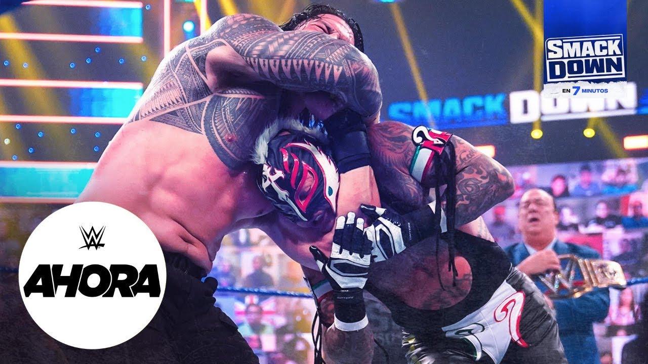 REVIVE SmackDown en 7 minutos: WWE Ahora, Jun 18, 2021