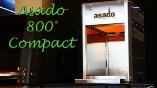 Asado 800° compact Oberhitzegrill Review Y-BBQ