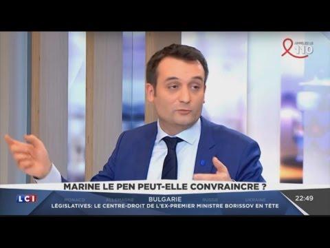Interview de Florian Philippot (LCI, 26/03/17, 22h13)